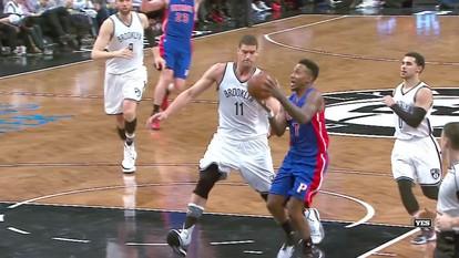 Confira os melhores momentos de Detroit Pistons 105 x 100 Brooklyn Nets pela NBA