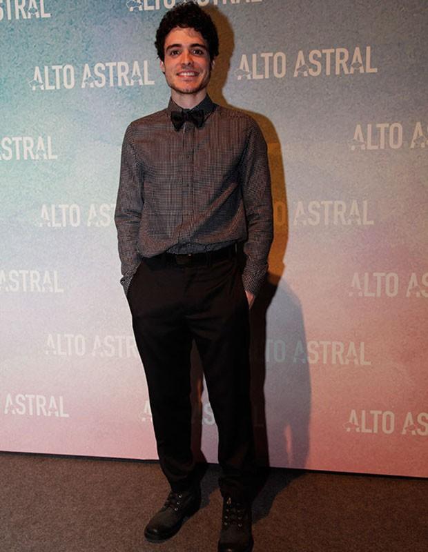 Fábio Audio na festa de lançamento de Alto Astral (Foto: Arthur Seixas/Gshow)