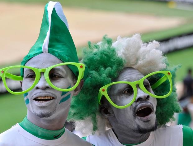 Cerimonia Abertura Copa Africana de Nações, Nigéria x Burkina Faso (Foto: AFP)
