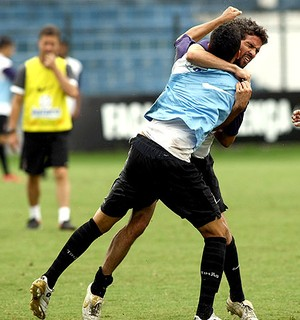 Dênis e Marcinho, Corinthians, 2009 (Foto: Tom Dib/ Agência Lance)
