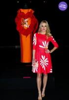 Look do dia: Fiorella Mattheis usa vestido floral em evento em São Paulo