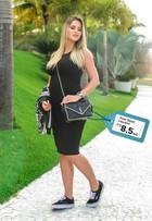 Andressa Suita mostra estilo com muito conforto na gravidez; Veja looks!