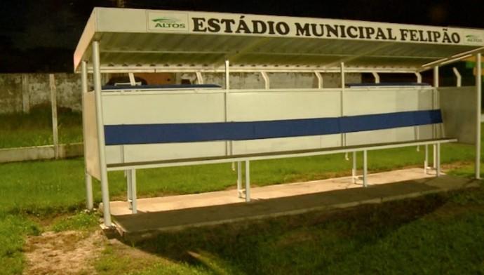 Caiçara não comparece a último jogo no estdual (Foto:  TV Clube )