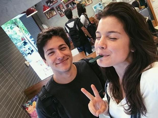 Alice Wegmann e Pedro Malan (Foto: Instagram / Reprodução)