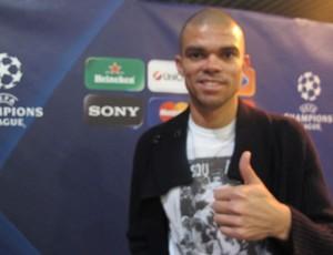 Pepe entrevista Real Madrid (Foto: Cahê Mota / Globoesporte.com)