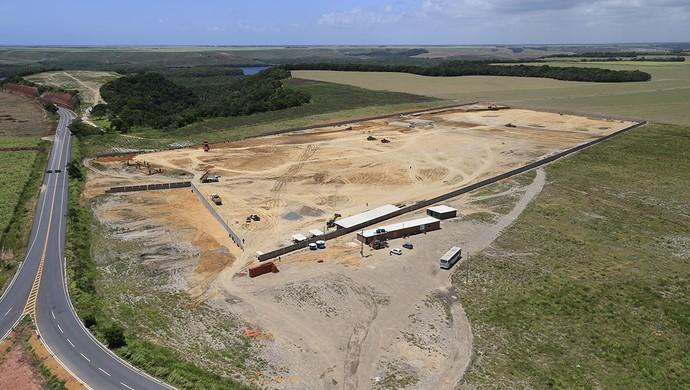 Vista aérea do Ninho do Galo, na Barra de São Miguel (Foto: Ailton Cruz / Gazeta de Alagoas)