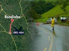 Polícia tenta identificar caminhão que atropelou 4 vítimas de acidente no RS