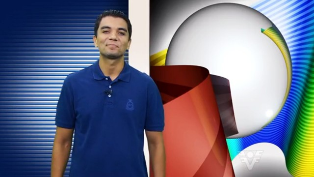 Antônio Marcos, narrador e apresentador do Tribuna Esporte (Foto: Reprodução / TV Tribuna)
