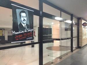 Sessão especial de cinema homenageia o jornalista alagoano Jayme Miranda (Foto: Micaelle Morais/G1)