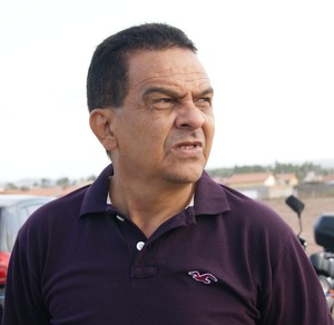 Francisco Diá, técnico do Icasa (Foto: Augusto Gomes)