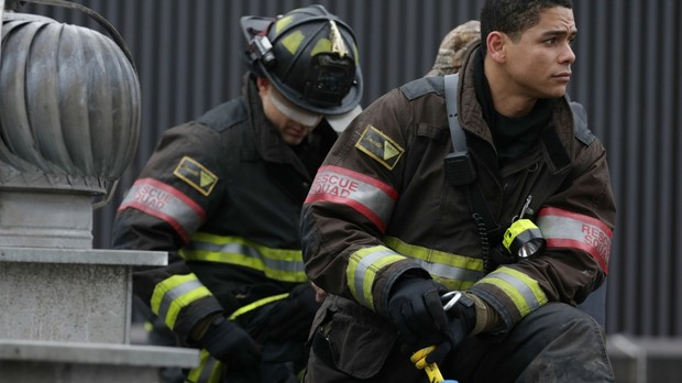 Bombeiros Chicago Fire (Foto: Canal Universal)