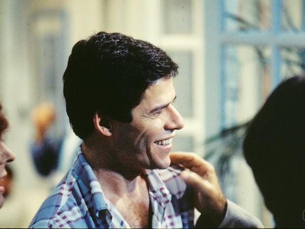 Edson (José Mayer) em A Gata Comeu