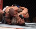 Sólido, Leonardo Macarrão domina Carrizosa e vence a primeira no UFC