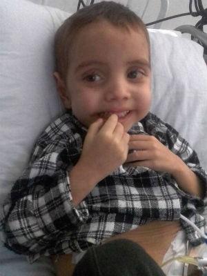 João Pedro sofria de Síndrome de Berdon (Foto: Avelita Barbosa da Silva/Arquivo pessoal)