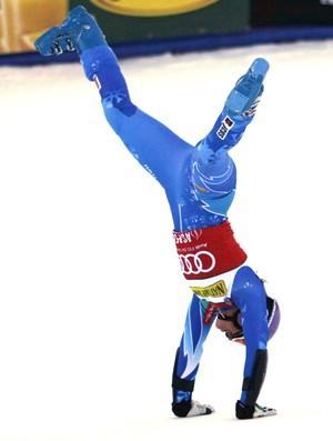 Tina Maze esqui alpino Copa do Mundo de Aspen (Foto: Reuters)
