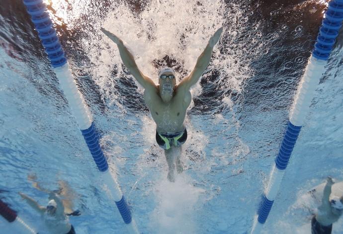 Michael Phelps seletivas americanas dia 3 (Foto: Rob Schumacher/Reuters)