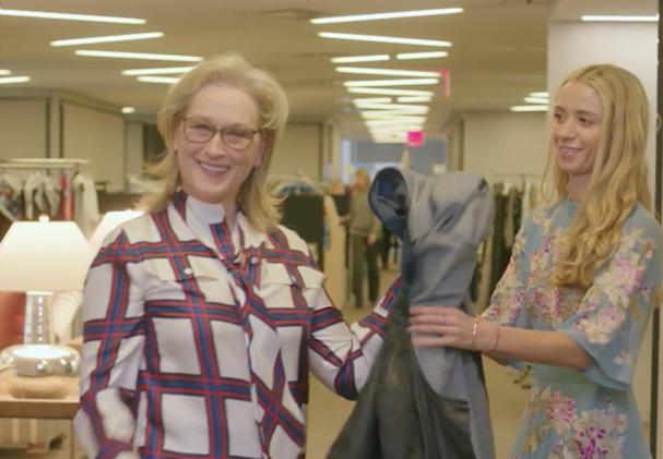 meryl Streep recria Miranda Priestly em entrevista com Anna Wintour (Foto: Reprodução)