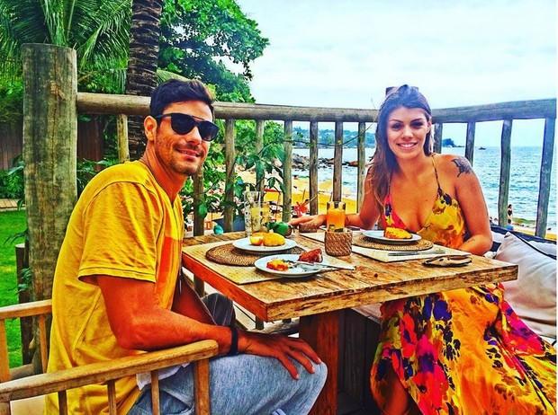 Ex-BBBs Franciele Almeida e Diego Grossi (Foto: Instagram / Reprodução)