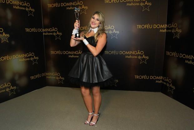 Dani Calabresa - Premiação Os Melhores do Ano do Domingão do Faustão (Foto: Delson Silva dos Santos / AgNews)