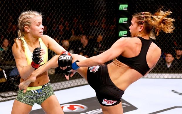 Paige VanZant x Kailin Curran - UFC (Foto: Getty Images)