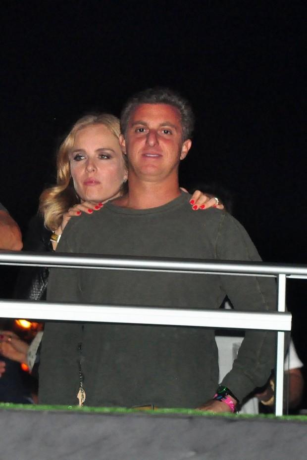 Luciano Huck e Angélica (Foto: Roberto Teixeira / EGO)