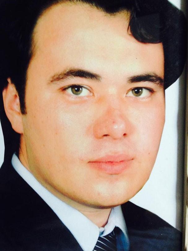O filho de Marilda, André Ura (Foto: Reprodução/Facebook)