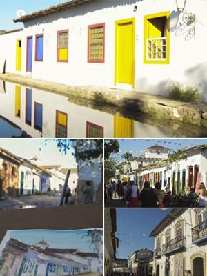FOTOS: Centro histórico de  Paraty atrai visitantes na Flip (Flavio Moraes/G1)