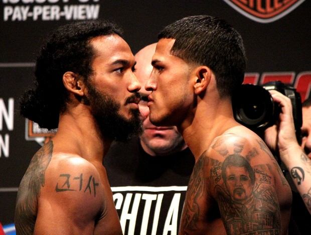 UFC Ben Henderson Anthony Pettis (Foto: Evelyn Rodrigues)