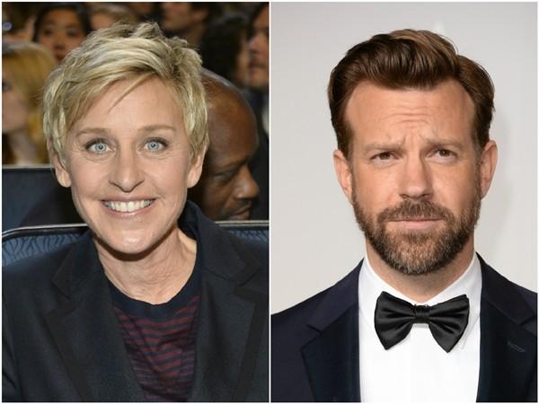 Ellen DeGeneres e Jason Sudeikis  (Foto: Getty Images)