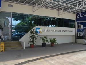 Corte do Tribunal de Contas é composta por sete conselheiros (Foto: John Pacheco/G1)