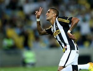 rafael marques botafogo gol vasco série A (Foto: Bruno Gonzalez / agência O Globo)