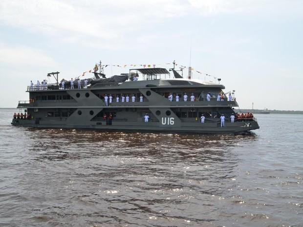 Navio-hospital deve chegar ao Acre no dia 31 de janeiro (Foto: Marinha do Brasil)