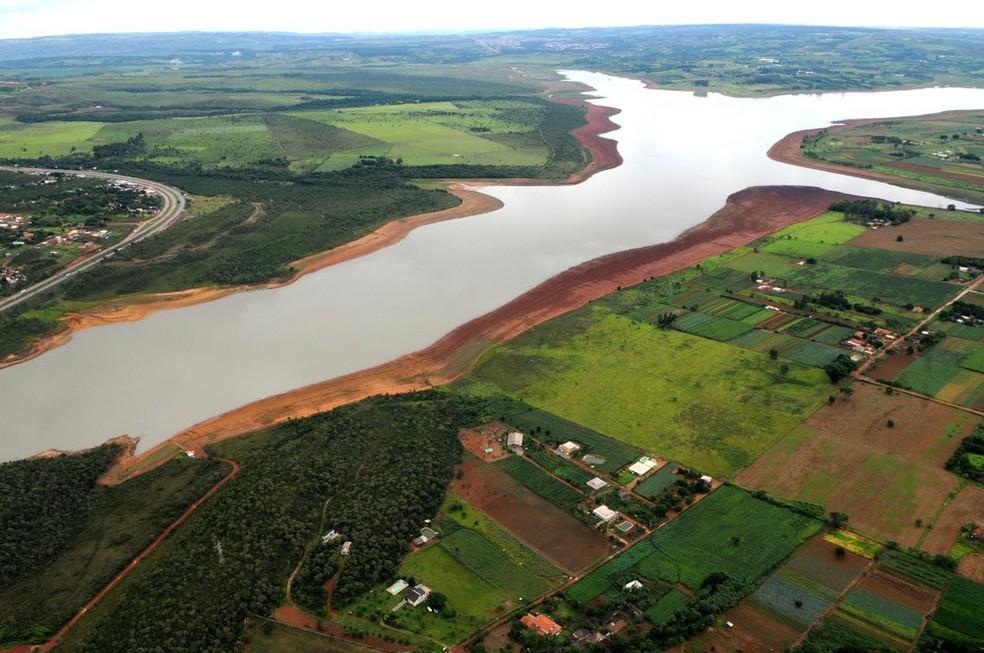 Imagem aérea da Bacia do Descoberto, em janeiro de 2017 (Foto: Gabriel Jabur/Agência Brasília)