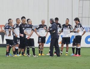 Tite treino Corinthians (Foto: Rodrigo Faber)