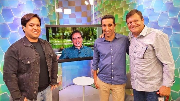 Primeira edição do Voando Baixo no Giro SporTV