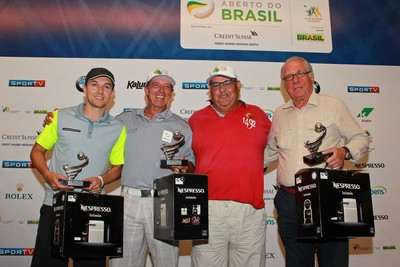 Dagoberto campeão torneio de golfe rio de janeiro (Foto: Fabio Vicente/CBG)