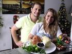 Veja o passo a passo da salada de tender light preparada por Andréia Sorvetão