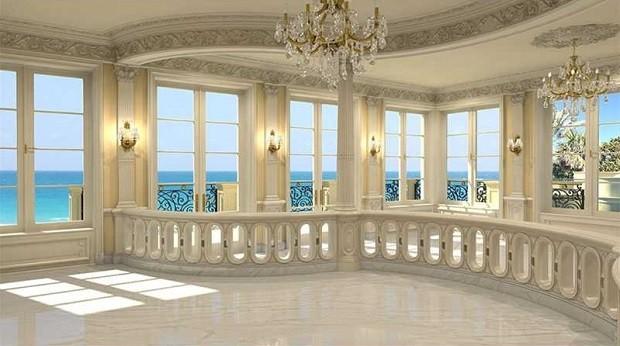 Casa está sendo anunciada por US$ 139 milhões - mais de R$ 325 milhões (Foto: Divulgação/Coldwell Banker Residential Real State)