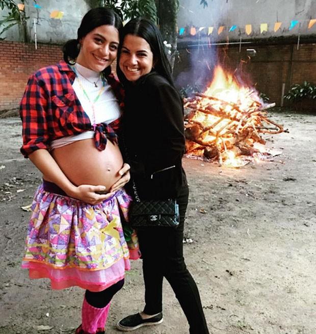 Carol Castro e Mariana Caminha (Foto: Reprodução)