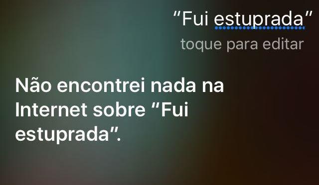 Siri ainda não reconhece a frase no Brasil (Foto: Reprodução)