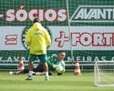 Três meses após cirurgia, Fernando Prass treina com quedas no Palmeiras