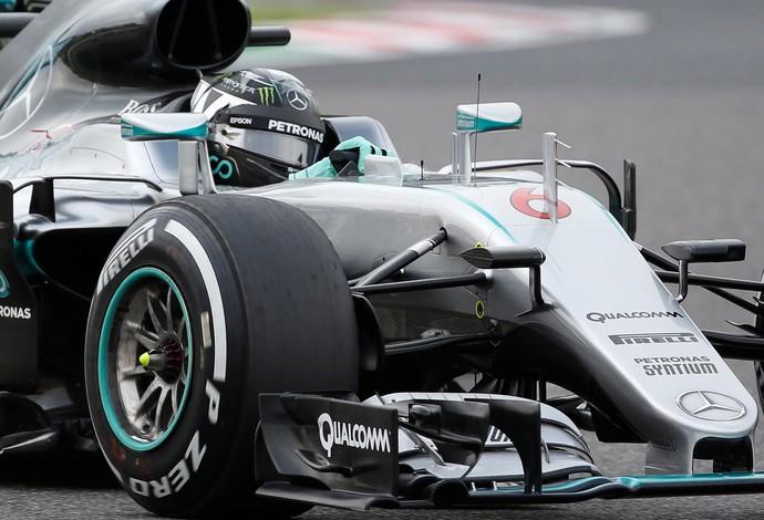 Nico Rosberg GP do Japão Suzuka Fórmula 1 (Foto: Reuters)