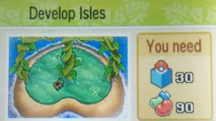 Pokémon Sun e Moon: só é possível evoluir sua ilha atingindo o número pedido de Pokémon capturados e Beans (Foto: Reprodução / Thomas Schulze)