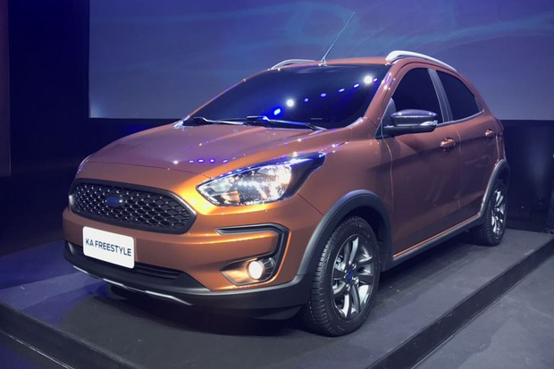 Ford Quer Transformar Ka Em Um Mini Suv Chamado Ka Freestyle