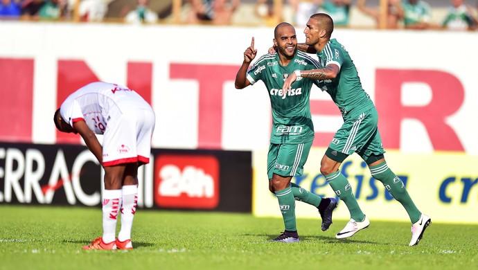 Mogi Mirim x Palmeiras - Alecsandro (Foto: Marcos Ribolli)