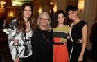 Time feminino: a coletiva foi um sucesso (Foto: Fábio Rocha / TV Globo)