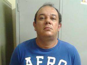 Ivan Rogério da Silva, de 38 anos, foi preso por receptação, em Palmas (Foto: Divulgação/SSP TO)
