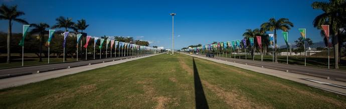 Decoração Olimpíada Rio 2016 cidade (Foto: Renato Sette Camara/Prefeitura do Rio)