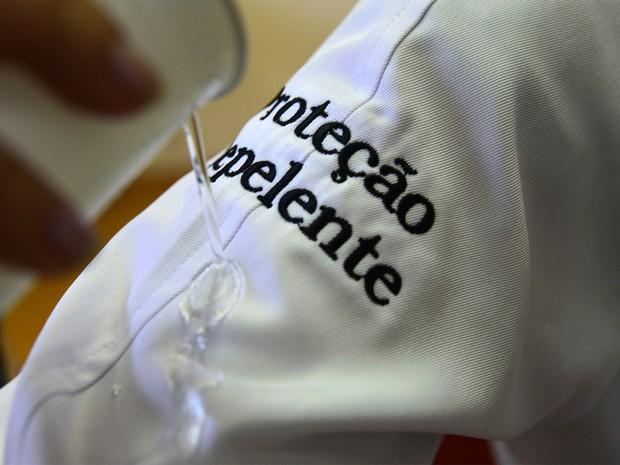 Unicamp de Campinas cria tecido antibacteriano (Foto: Antonio Scarpinetti/ Ascom Unicamp  )