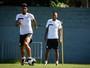 Em treino após empate, Dorival Júnior prioriza movimentação ofensiva